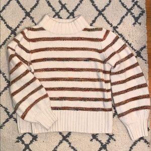 Madewell Rainbow Thread Wool Sweater